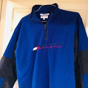 Tommy Hilfiger Sweaters - 🔥VINTAGE TOMMY HILFIGER FLEECE JACKET MENS XL